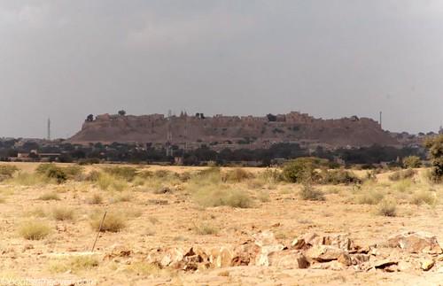 Jaisalmer Fort from a distance