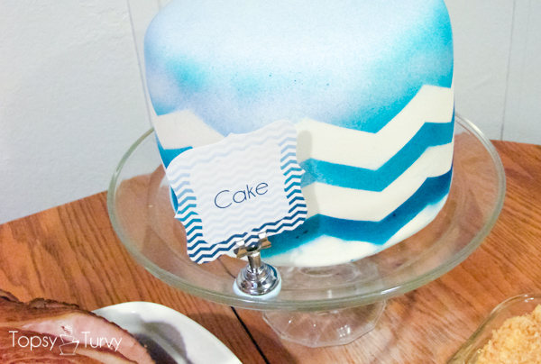 blue-chevron-ombre-birthday-cake