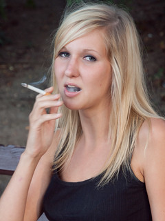 Smoking Karin