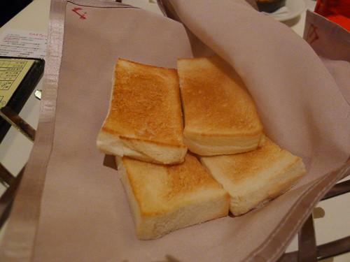 前菜-方塊麵包@西堤牛排
