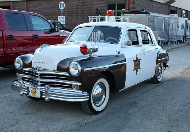 1949 plymouth special deluxe 4 door sedan police cruiser for 1949 plymouth 4 door