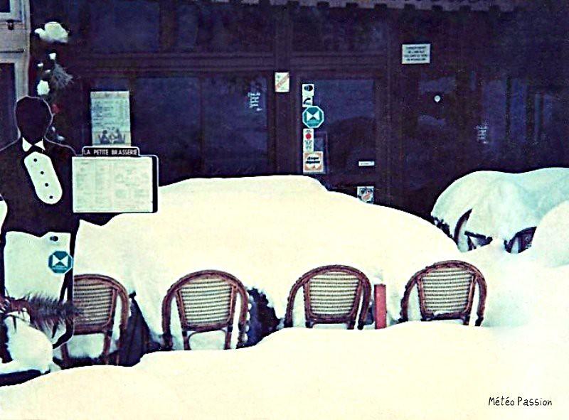 neige du 21 janvier 1992 dans l'Aude et le Roussillon