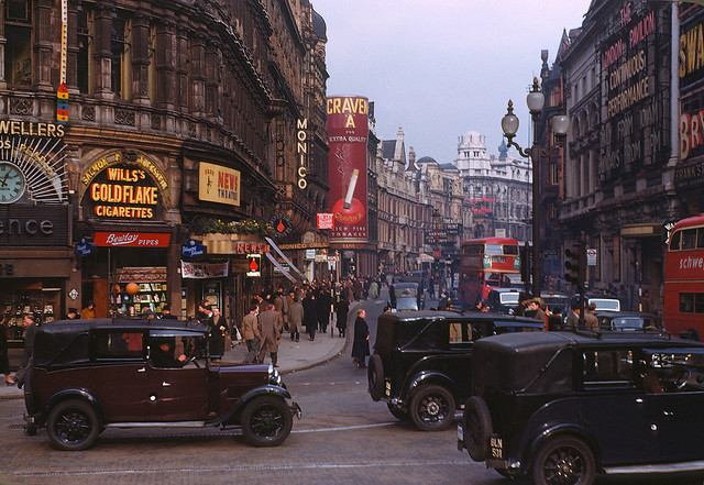 Londres 1949 (Shaftesbury Avenue)