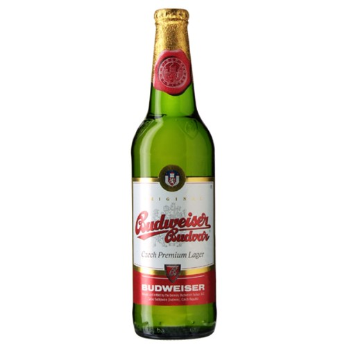 Budweiser Budvar (European Bottle)