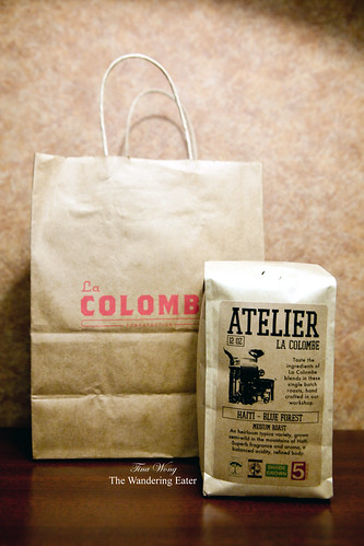 La Colombe Atelier line - Blue Forest beans exclusively from Haiti