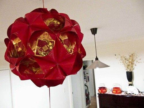chinese lanterns and baskets