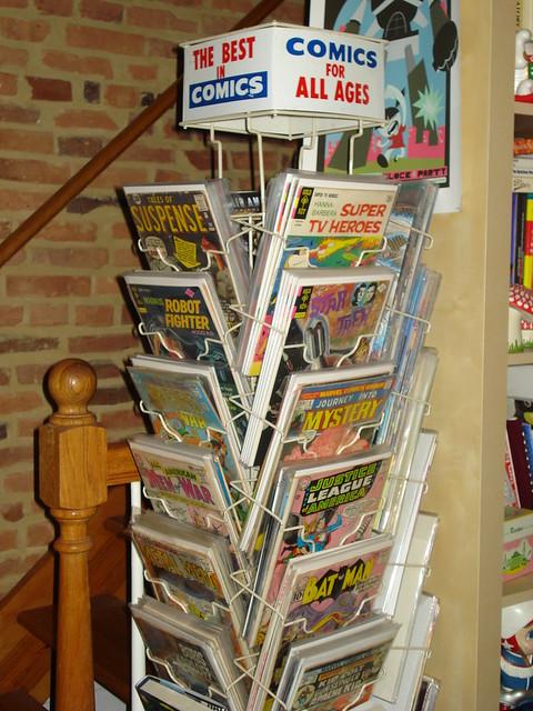 Mark 39 S Majorly Rad Comic Book Rack Flickr Photo Sharing