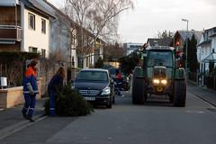 Weihnachtsbaumsammlung der JF - 14.01.12