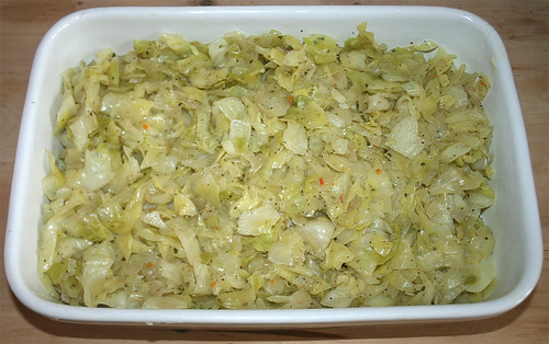 33 - Rest Kohl einlegen / Add cabbage