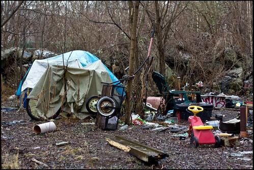 Hütte/Obdachlosenpalast
