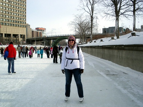 Me! Skating! On the Canal!