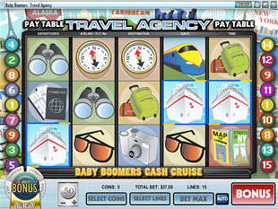 Baby Boomers Cash Cruise Slot Machine