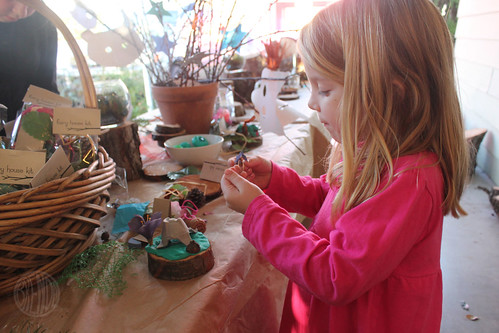 creating fairy houses