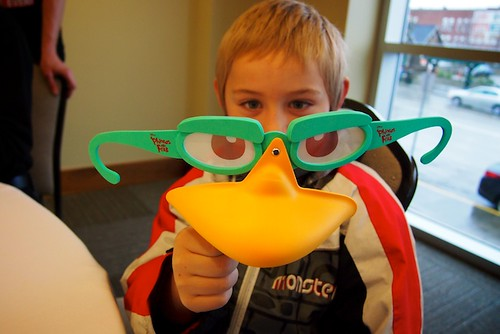 My nephew at Phineas & Ferb