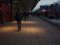 Strange light in Warsaw