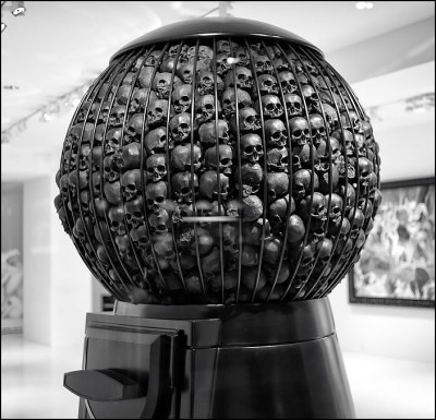 skullball machine by Marco Perego