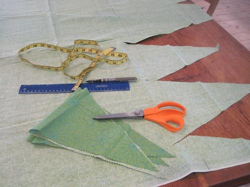 Scissors, measuring tape, ruler.
