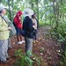 Group with Charmain at Millet Rainforest Reserve, St Lucia