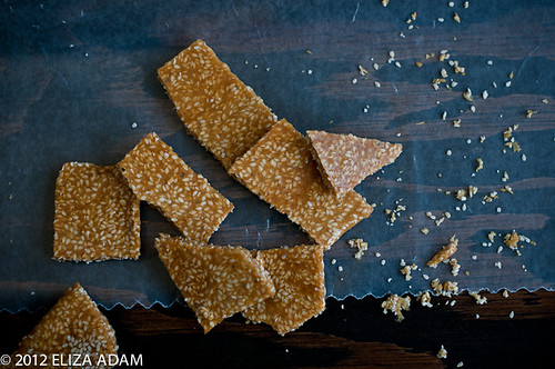 Sesame seed brittle-1-2