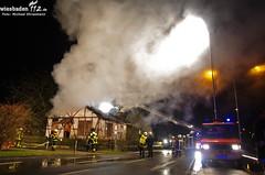 Gebäudebrand Rüsselsheim 23.01.12