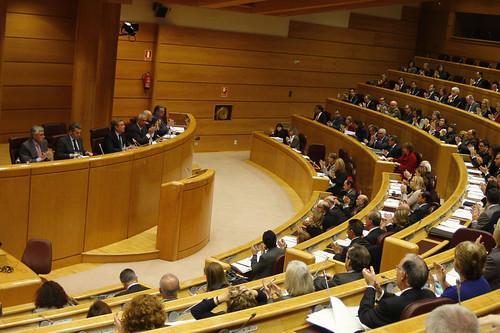 Reunión del Grupo Parlamentario Popular en el Congreso