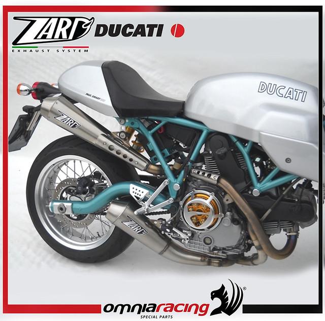 Ducati Exhaust Surface Temperature