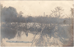 Dam, Lake George, PM 1908