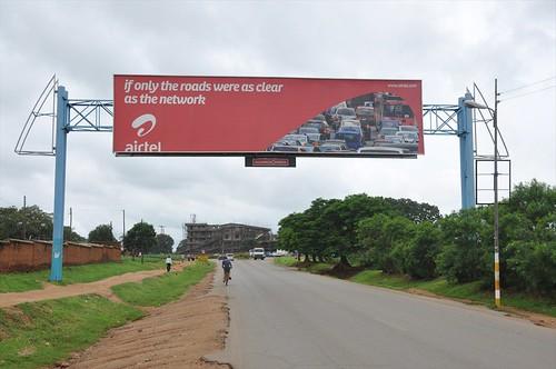 Main road in Lilongwe
