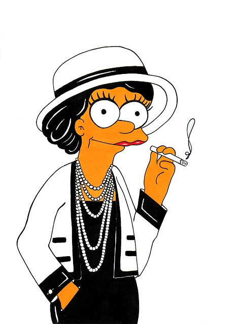 Marge Simpson Loves Coco Chanel