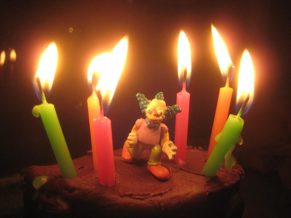 Krusty The Clown Brand Birthday Cake 5802