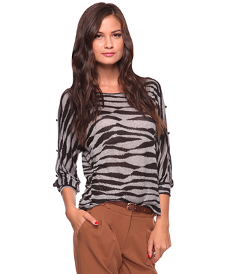 Tiger Stripe Top