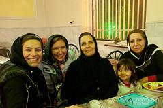 Iranian Family with Audrey - Kermanshah, Iran