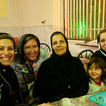 Iranian Family with Audrey - Kermanshah, Iran