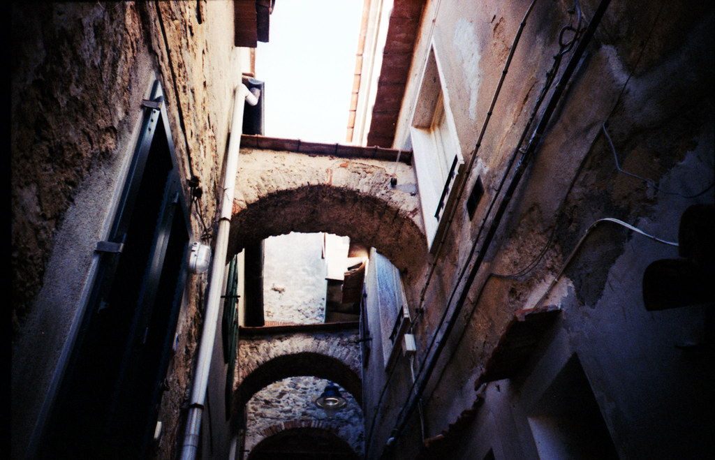 Elba, through a LOMO lens
