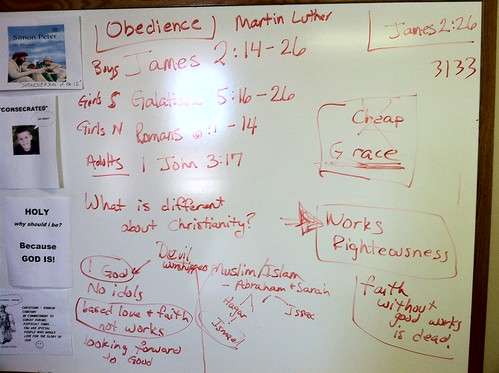 Brainstorming about Obedience and Faith