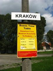 Autocarros Oświęcim - Cracóvia