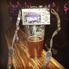 The problem with using your beer as a tripod? I want to drink the beer! #indiebitchproblems
