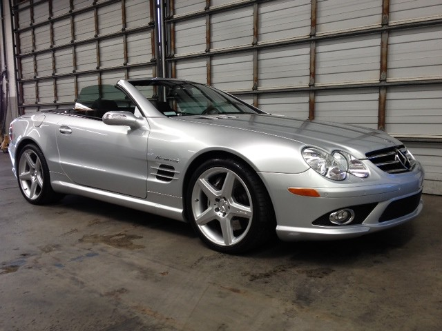 for sale 2007 sl55 amg iridium silver only 11 000 miles forums. Black Bedroom Furniture Sets. Home Design Ideas