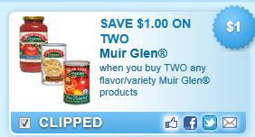 Muir Glen Products Coupon