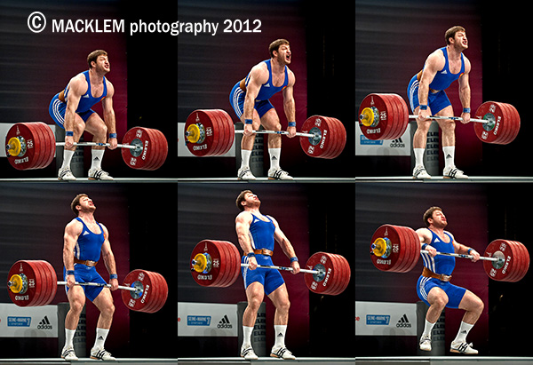 AKKAEV Khadzhimurat olympic weightlifter
