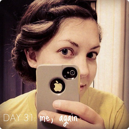 """""""washed"""" my hair for the first time in 30+ days. this calls for no-heat curls!"""