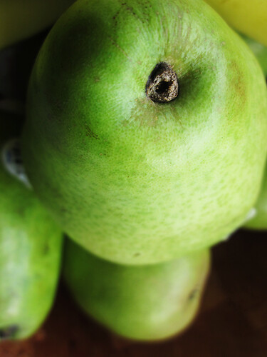 pear close up