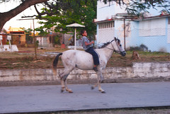 Chico cowboy, Santa Clara, Cuba
