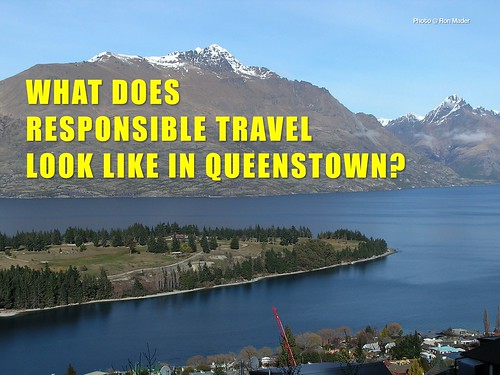 What does responsible tourism look like in Queenstown?