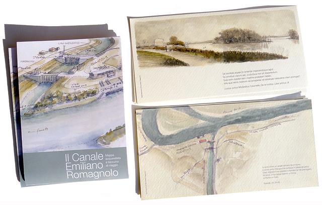 mappa per il Canale Emiliano Romagnolo