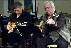 Bouzouki virtuoso Avram Pengas with guitarist Nick Mandoukas