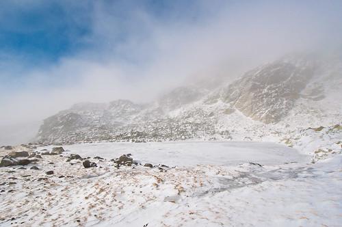 Subir a la Laguna Grande de Peñalara en invierno
