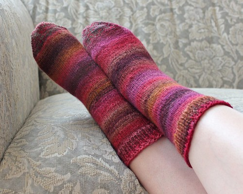 Sugared Beets Socks2