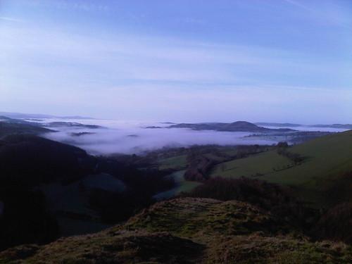 winter mountain carmarthenshire westwales sugarloaf 2012