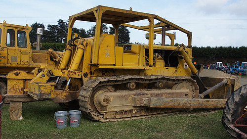 International TD-25 C Bulldozer. by Branxholm